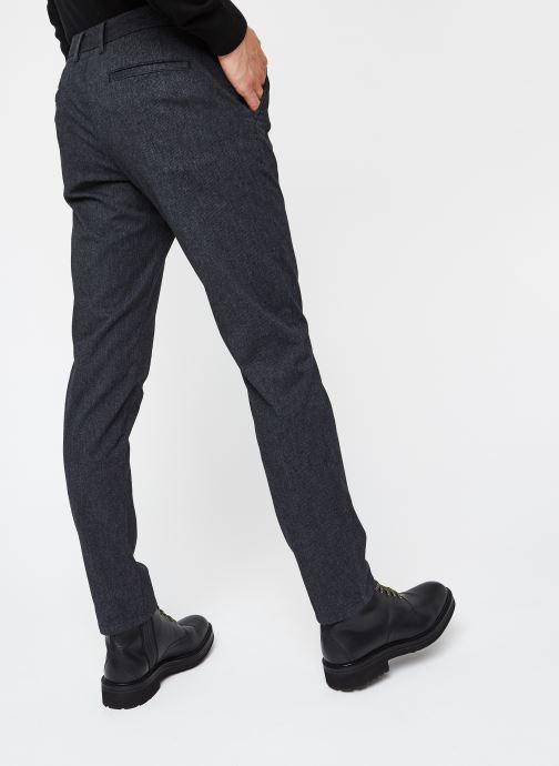 Vêtements Selected Homme Slhslim-Arval Pants W Noos Gris vue portées chaussures
