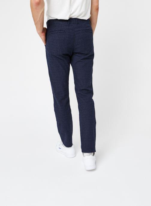 Vêtements Selected Homme Slhslim-Arval Pants W Noos Bleu vue portées chaussures