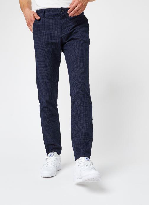 Vêtements Selected Homme Slhslim-Arval Pants W Noos Bleu vue détail/paire
