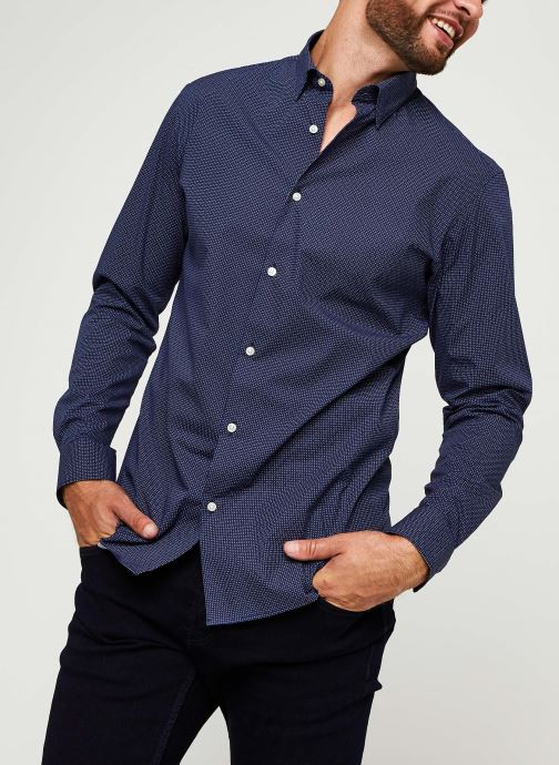 Chemise - Slhslimmichigan Shirt Ls B Noos