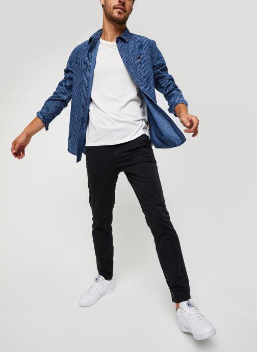 Vêtements Selected Homme Slhstraight-Newparis Flex Pants W Noos Noir vue bas / vue portée sac