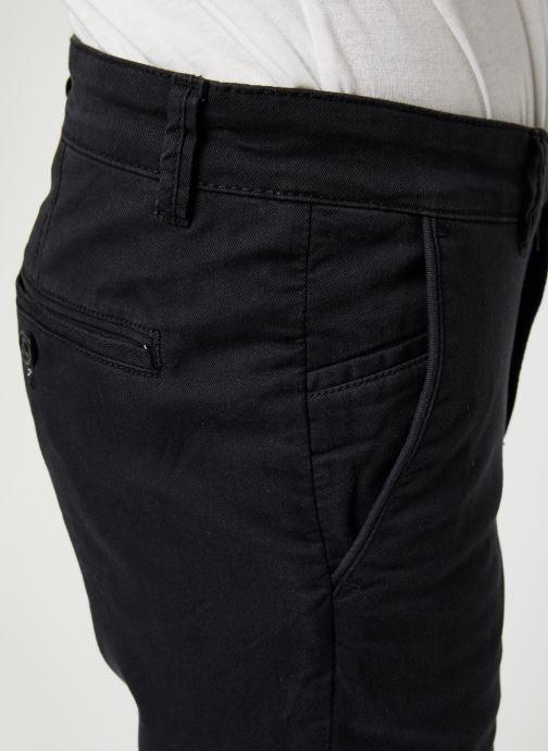 Vêtements Selected Homme Slhstraight-Newparis Flex Pants W Noos Noir vue face