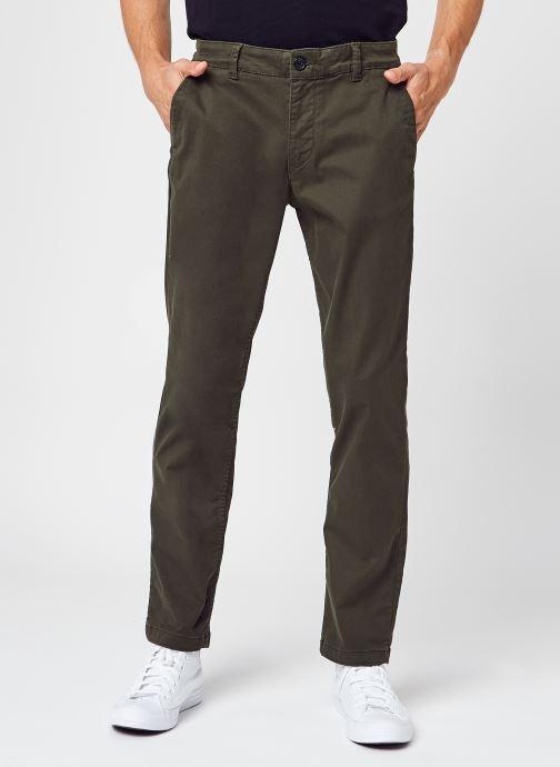 Kleding Selected Homme Slhstraight-Newparis Flex Pants W Noos Groen detail