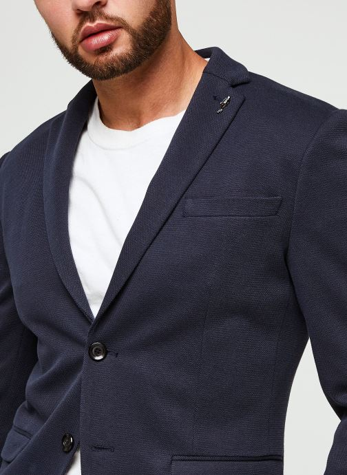 Vêtements Selected Homme Slhslim-Cole Blz B Noos Bleu vue face