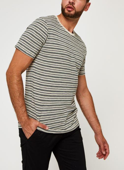 Vêtements Accessoires Slhpatrick Stripe Ss O-Neck Tee W