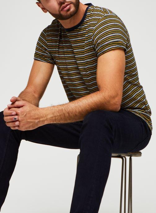 T-shirt - Stripe Ss O-Neck Tee W