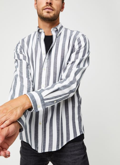 Tøj Accessories Slhregwide-Stripe Shirt Ls W