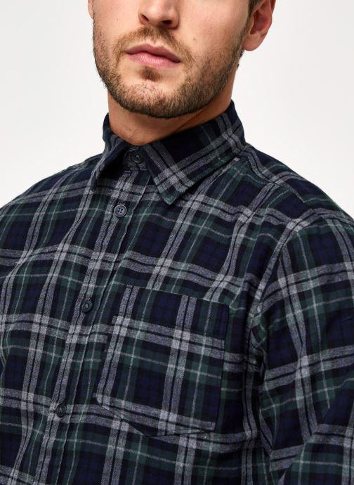 Vêtements Selected Homme Slhregmatthew Shirt Ls Check J Vert vue face