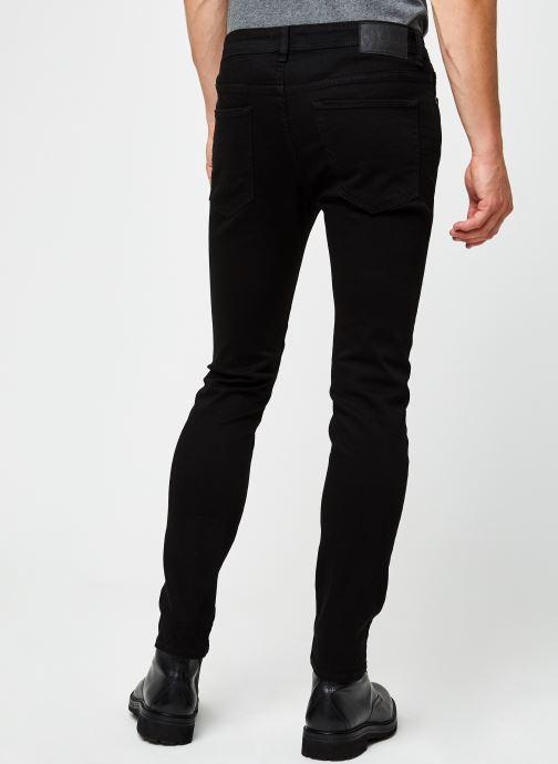 Vêtements Selected Homme Slhslim-Leon 3031 Noir vue portées chaussures
