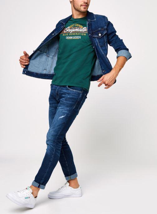 Vêtements Selected Homme Slhslim-Leon 3034 Bleu vue bas / vue portée sac