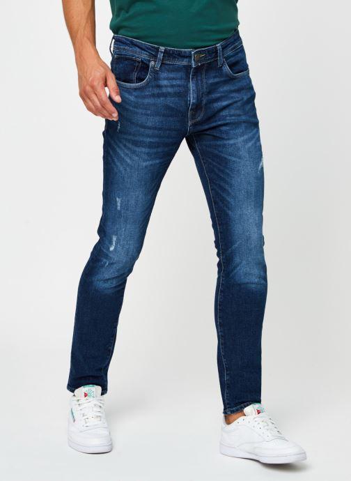 Vêtements Selected Homme Slhslim-Leon 3034 Bleu vue détail/paire