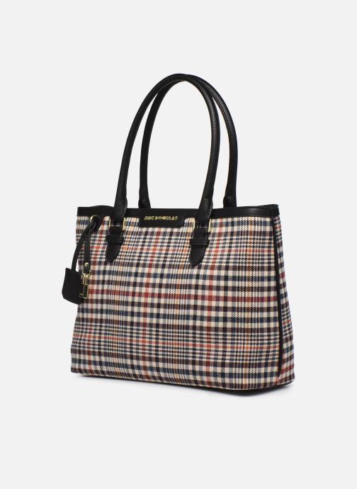 Handtaschen Mac Douglas Lauren M Fantasia schwarz schuhe getragen