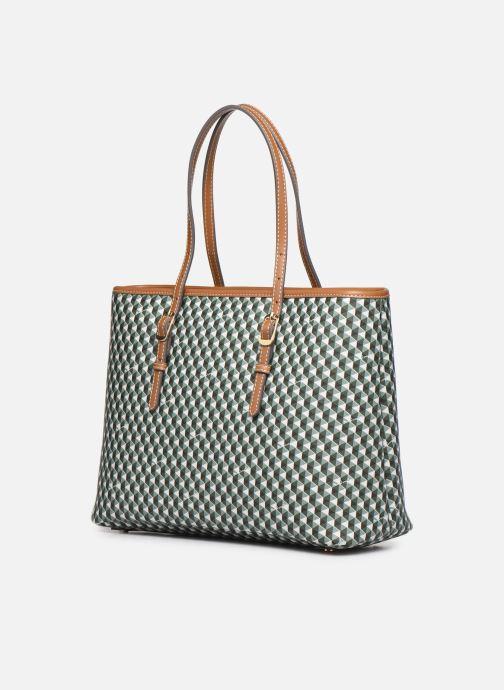 Handtaschen Mac Douglas Everton M Paloma grün ansicht von rechts