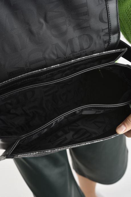Handtaschen Mac Douglas Nangy M Paloma grau ansicht von hinten