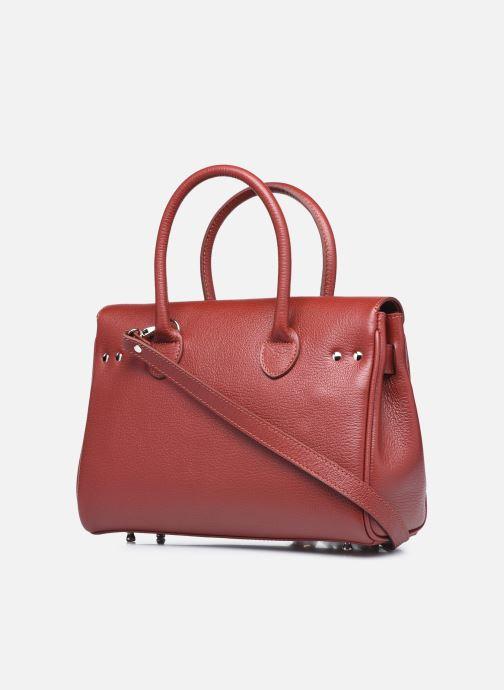 Handtaschen Mac Douglas Pyla XXS Mandurah rot ansicht von rechts
