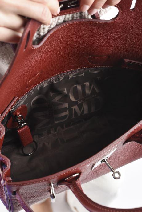 Handtaschen Mac Douglas Pyla XXS Mandurah rot ansicht von hinten