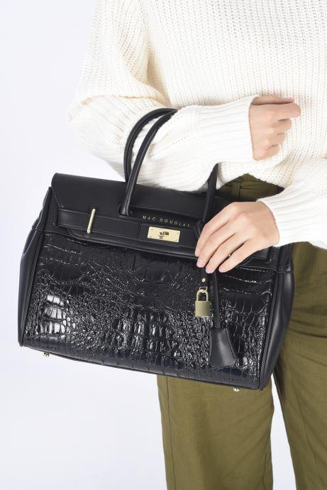 Handtaschen Mac Douglas Pyla Xs Meryl schwarz ansicht von unten / tasche getragen