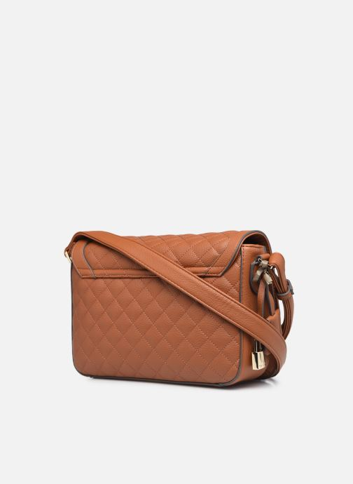Handtaschen Mac Douglas Nacimiento M Losange braun ansicht von rechts