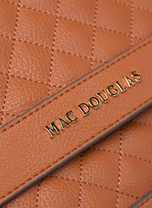 Handtaschen Mac Douglas Nacimiento M Losange braun ansicht von links