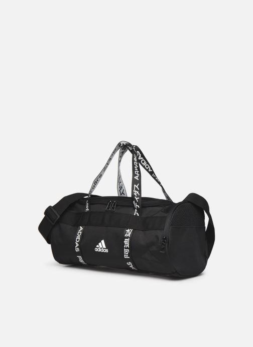 Sacs de sport adidas performance 4Athlts Duf Xs Noir vue portées chaussures