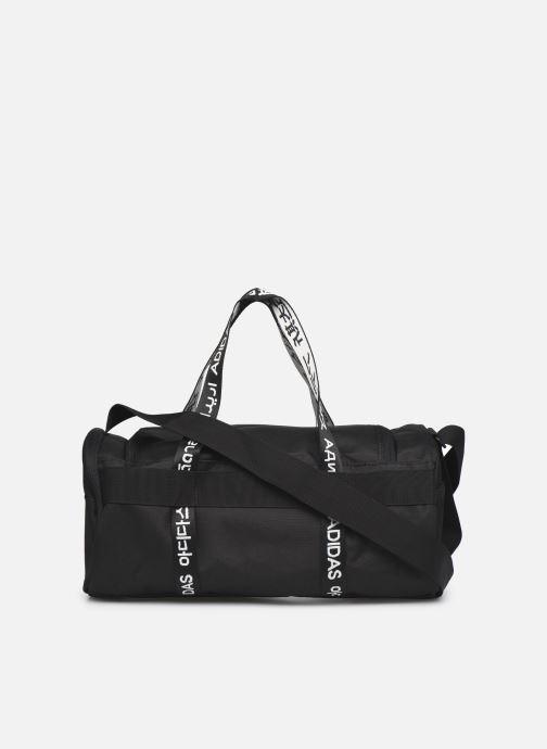 Sporttaschen adidas performance 4Athlts Duf Xs schwarz ansicht von vorne