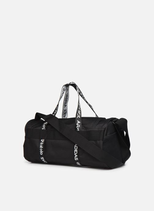 Sporttaschen adidas performance 4Athlts Duf Xs schwarz ansicht von rechts