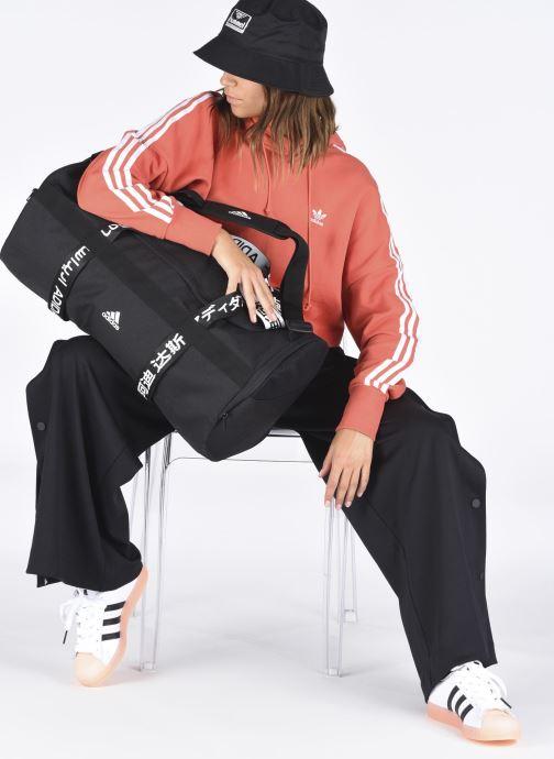 Sacs de sport adidas performance 4Athlts Duf M Noir vue bas / vue portée sac