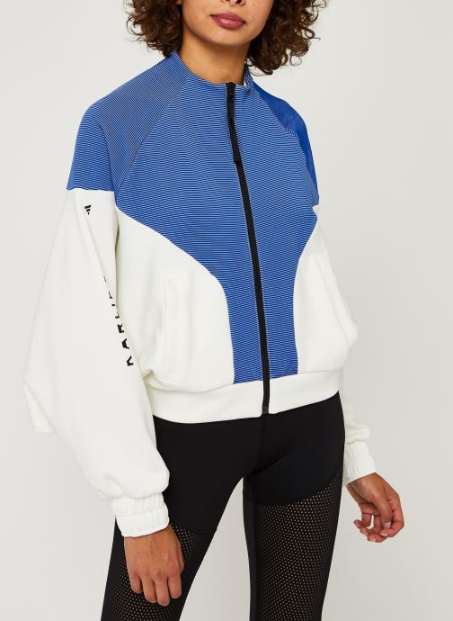 Vêtements adidas performance Cover Up Blanc vue droite