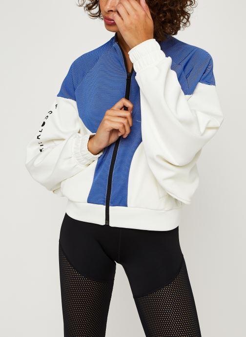 Vêtements adidas performance Cover Up Blanc vue détail/paire