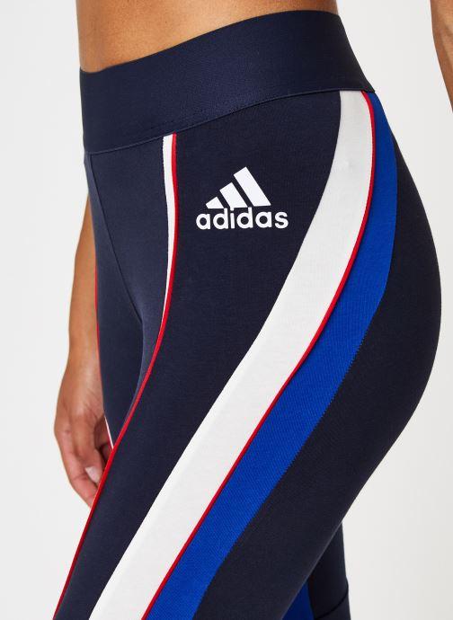 Vêtements adidas performance W Aac Tight Bleu vue face