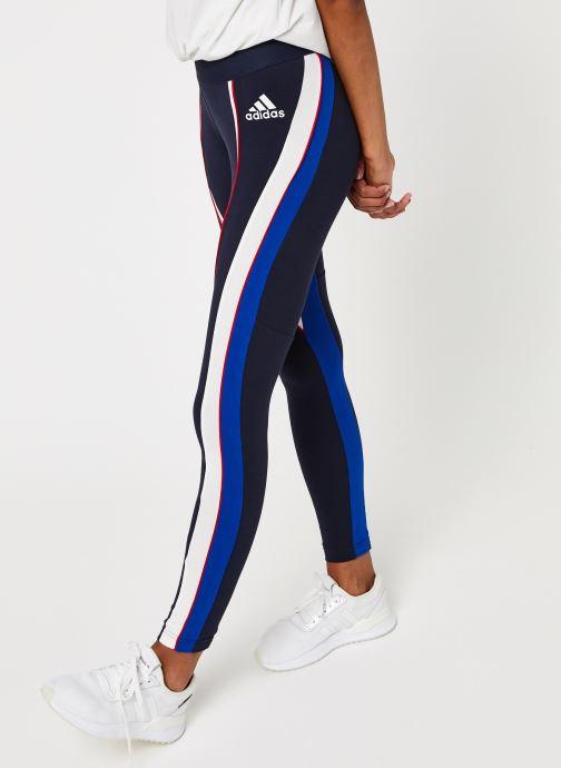 Vêtements adidas performance W Aac Tight Bleu vue détail/paire