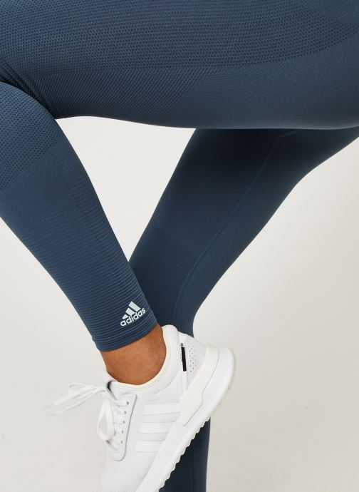 Vêtements adidas performance Smlss Tight Bleu vue face