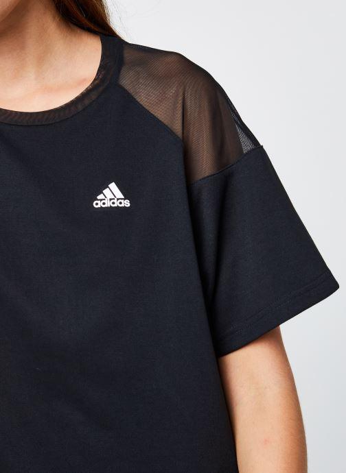 Vêtements adidas performance W Uc T Noir vue face