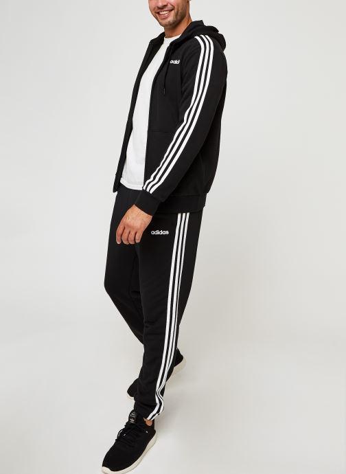 Vêtements adidas performance E 3S T Pnt Ft Noir vue bas / vue portée sac