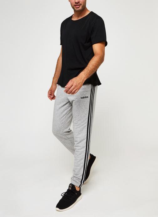 Vêtements adidas performance E 3S T Pnt Ft Gris vue bas / vue portée sac