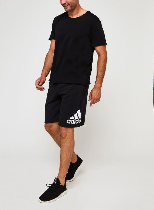 Vêtements adidas performance M Mh Bosshortft Noir vue bas / vue portée sac