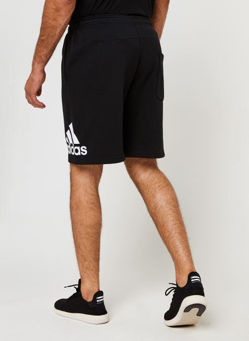 Vêtements adidas performance M Mh Bosshortft Noir vue portées chaussures