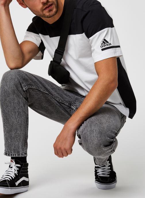 Vêtements adidas performance Zne Tee Blanc vue bas / vue portée sac