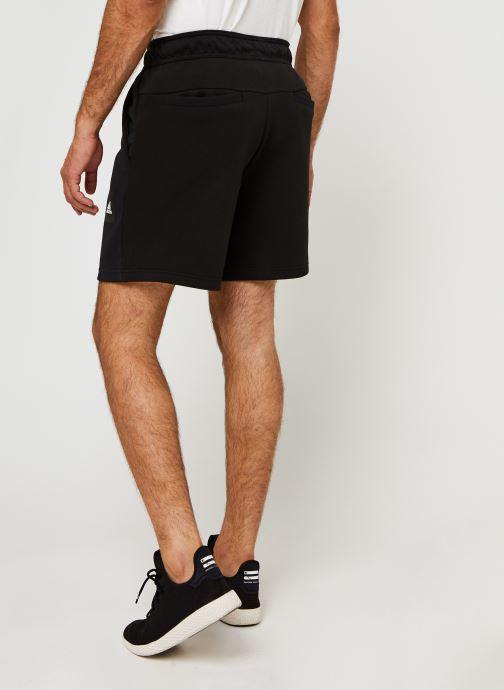 Vêtements adidas performance Mhs Short Sta Noir vue portées chaussures