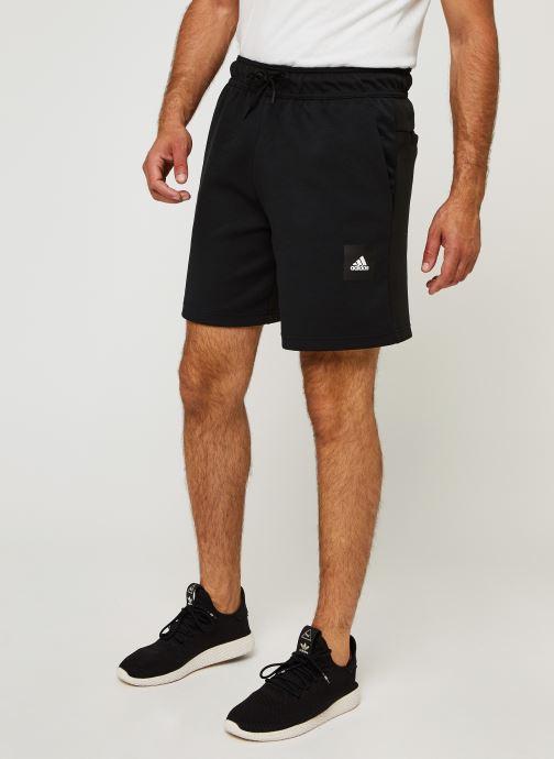 Vêtements adidas performance Mhs Short Sta Noir vue détail/paire