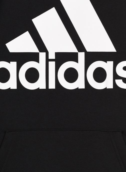 Vêtements adidas performance Mh Bos Po Fl Noir vue face