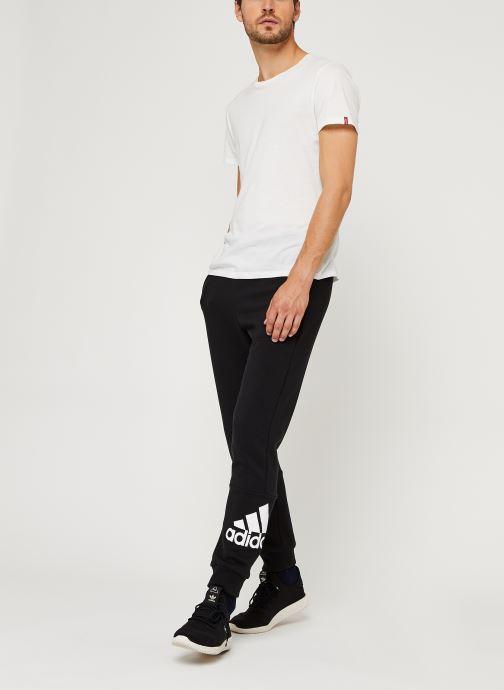Vêtements adidas performance Mh Bos Pnt Ft Noir vue bas / vue portée sac