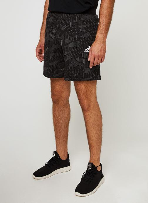 Vêtements adidas performance M E Aop Shorts Noir vue détail/paire