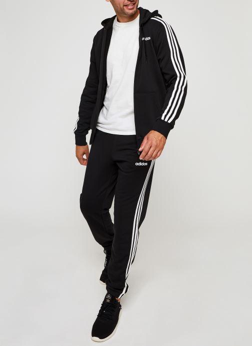 Vêtements adidas performance E 3S Fz Ft Noir vue bas / vue portée sac