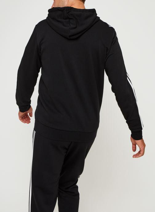 Vêtements adidas performance E 3S Fz Ft Noir vue portées chaussures