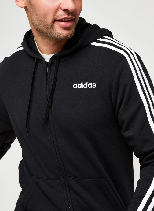 Vêtements adidas performance E 3S Fz Ft Noir vue face