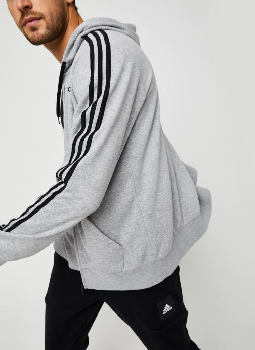 Vêtements adidas performance E 3S Fz Ft Gris vue détail/paire