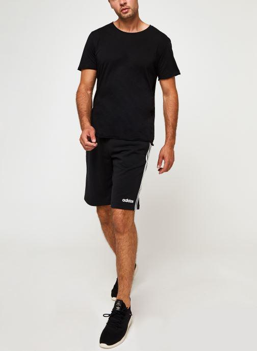 Vêtements adidas performance E 3S Shrt Ft Noir vue bas / vue portée sac