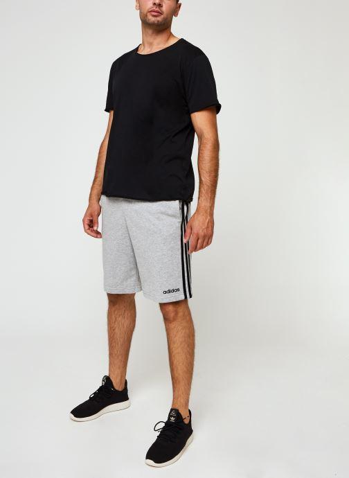 Vêtements adidas performance E 3S Shrt Ft Gris vue bas / vue portée sac