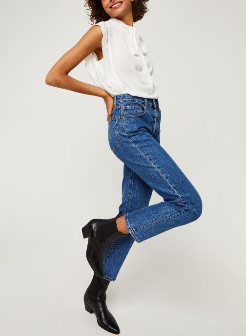 Vêtements IKKS Women Top Br11025 Blanc vue bas / vue portée sac